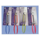 Assorted Colours 17cm Stainless Steel Tongs