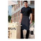 Pv Half Apron Without Pocket Red
