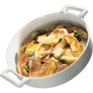 Revol Belle Cuisine Deep Round Baking Dish White 2.5L