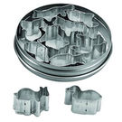 Tin Animal Cutters 10pc 35