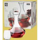 Vina Stemless Wine And Carafe Set 5pc