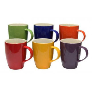 Picture of A La Carte Assorted Mugs Set Of 6 370ml