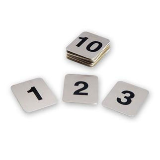 Picture of Adhesive Table Number Set 41-50