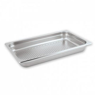 Picture of Anti Jam Pan 1/1 Size Perforated 150mm