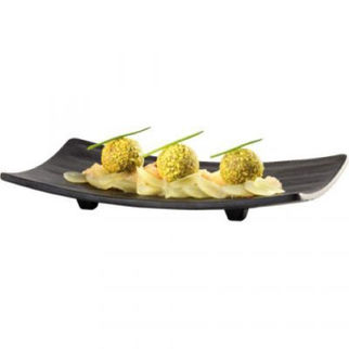 Picture of Aps Zen Sushi Plate Black