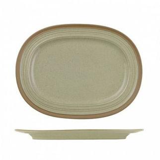 Picture of Art De Cuisine Igneous Oval Plate 320mm