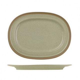 Picture of Art De Cuisine Igneous Oval Plate 355mm