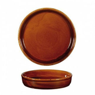 Picture of Art De Cuisine Rustics Tapas Mezze Dish 170mm Rustics Brown
