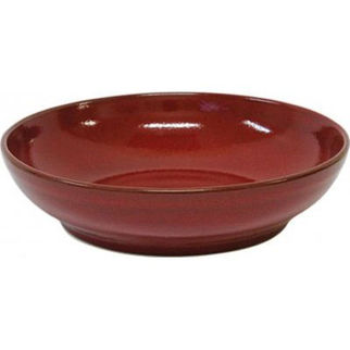 Picture of Artistica Round Flared Bowl Reactive Red