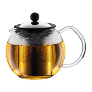 Picture of Assam Tea Press With Filter Small Borosilicate