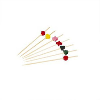 Picture of Bamboo Party Picks Assorted Designs 100pcs
