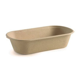 Picture of Biocane Lunch Trays Natural 65mm