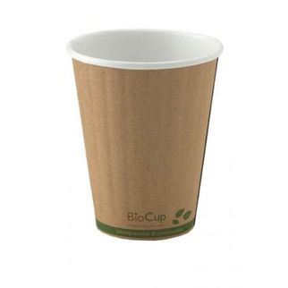 Picture of Biocup Branded Kraft Double Wall Cup 8oz