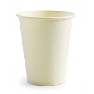 Picture of Biopak White Single Wall Cup 8oz