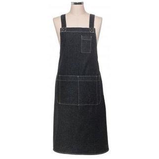 Picture of Black Denim Apron Pouch Pocket