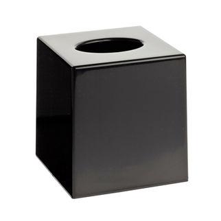 Picture of Black Matt Cubed Tissue Box