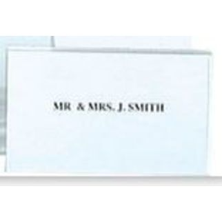 Picture of Buffet Card Holder Pvc 90x60mm