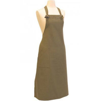 Picture of Cafe Canvas Apron Olive