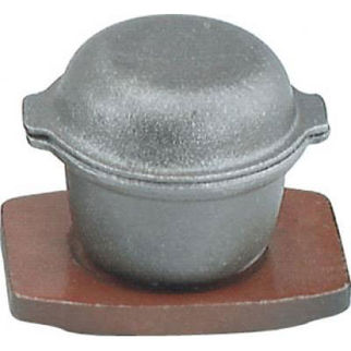 Picture of Cast Iron Garlic Prawn Pot