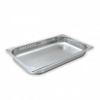 Picture of Cater Chef Pan 1/1 Size Perforated 150mm