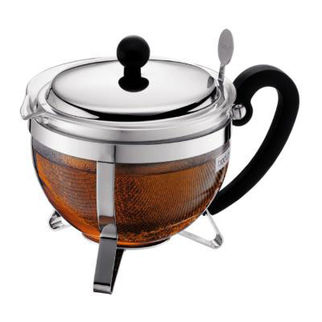 Picture of Chambord Tea Pot With Metal Lid And Metal Filter Stainless