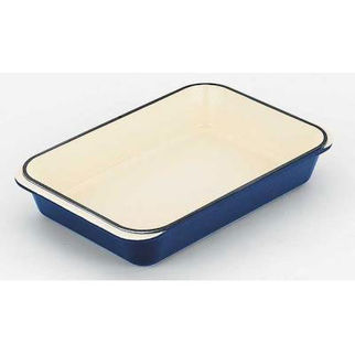 Picture of Chasseur Rectangular Roaster 40x26cm French Blue