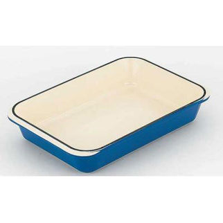 Picture of Chasseur Rectangular Roaster 40x26cm Sky Blue