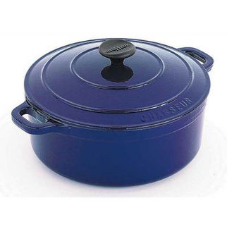 Picture of Chasseur Round French Oven 24cm French Blue