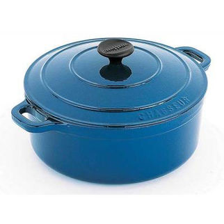Picture of Chasseur Round French Oven 26cm Sky Blue