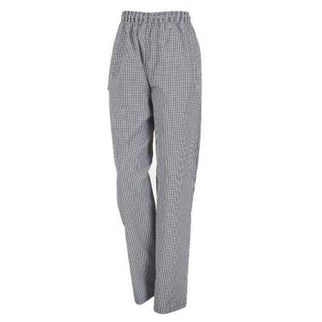 Picture of Chefs Drawstring Pants Traditional Check Small