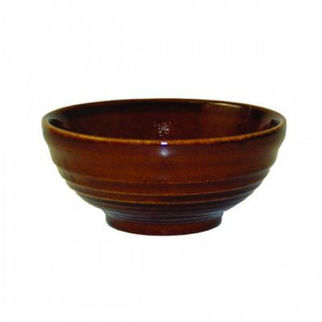 Picture of Churchill Ripple Bowl 104mm Cinnamon
