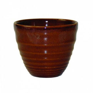 Picture of Churchill Ripple Chip Bowl Cinnamon