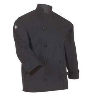 Picture of Classic Chefs Jacket Black Long Sleeves Small