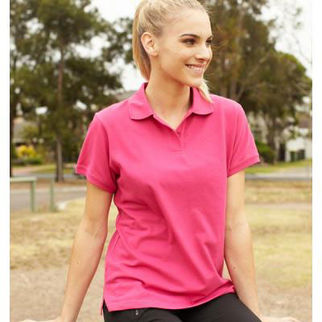 Picture of Classic Ladies Polo Size 14 Pink