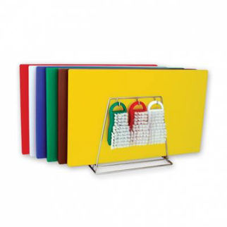 Picture of Colour Coded Cutting Board System 19 Piece 13mm