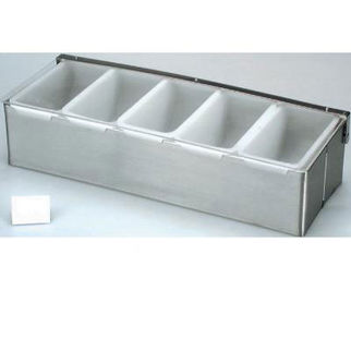 Picture of Condiment Dispenser Stainless Steel 5 Comp