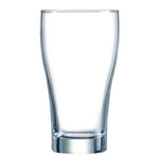 Picture of Arcoroc Conical Nucleated Tempered Beer Glass 425ml