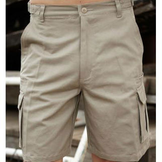 Picture of Cotton Drill Utility Shorts Sandstone