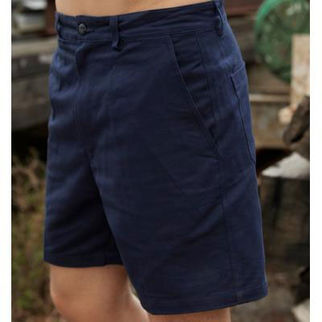 Picture of Cotton Drill Work Shorts Navy 82