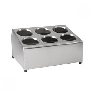 Picture of Cutlery Holder 18 8 Stainless Steel 6 hole