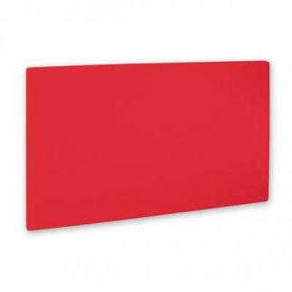 Picture of Cutting Board Pe 1 Board Red 530x325x20