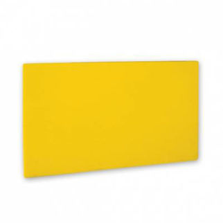 Picture of Cutting Board Pe 1 Board Yellow 20mm