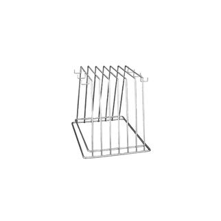 Picture of Cutting Board Storage Rack 6 slot with hooks