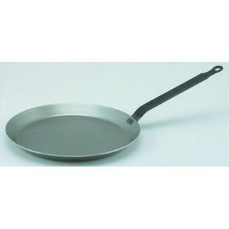 Picture of De Buyer Blue Steel Crepe Pan 240mm Force Blue