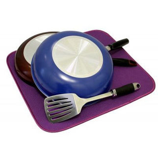 Picture of Dish Drying Mat 450 X 400cm Grape