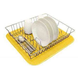 Picture of Dish Drying Mat 450 X 400cm Lemon