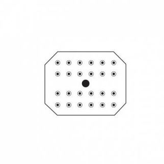 Picture of Drain Insert 18 8 Stainless Steel 1/2 size