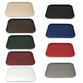 Picture of Fast Food Tray Plastic burgundy
