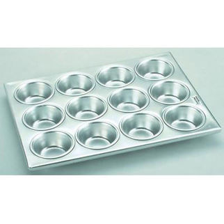 Picture of Fisko Muffin Sheet Aluminium  24 cup tray