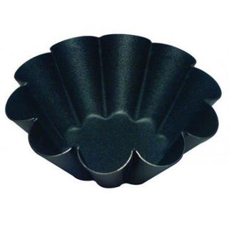 Picture of Fluted Brioche Mould 10 Ribs 80mm